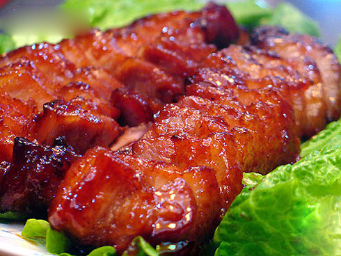 Sandwich vietnamien au porc rôti