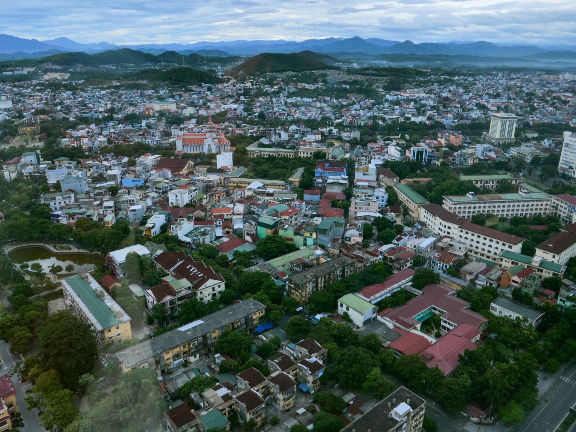 La ville de Hué