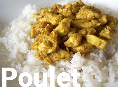 Recette du Poulet au curry vietnamien