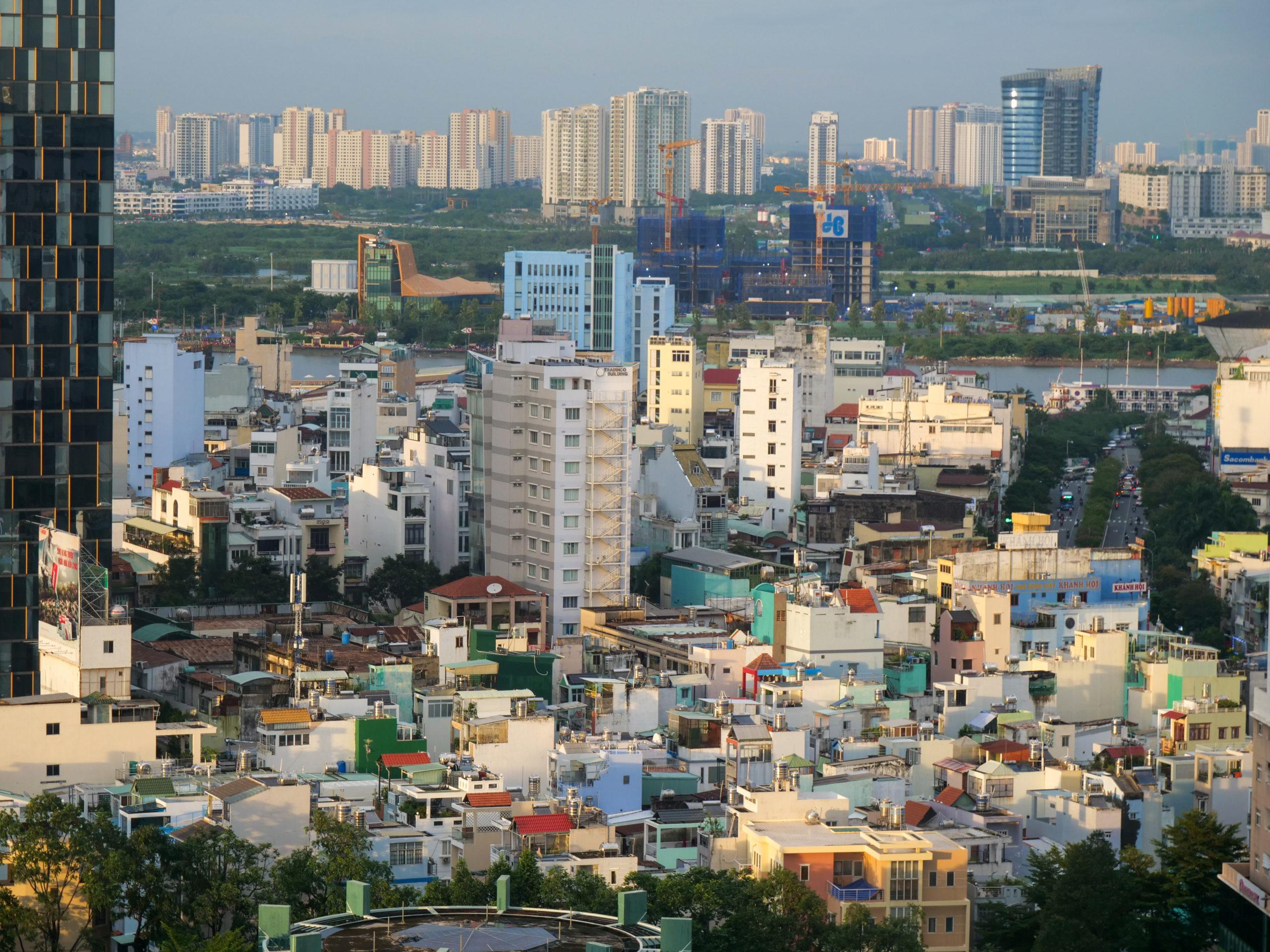 Vivre à Saigon Ho Chi Minh ville